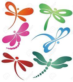 libélula silueta - Buscar con Google