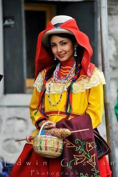 Pretty (peruvian) woman
