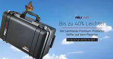 Peli Air Cases sind bis zu 40 Prozent leichter als andere Koffer aus Polymer. Sie sind für Fachleute entwickelt, die gern mit leichtem Gepäck reisen. Es sind ausgesprochen innovative Hochleistungsschutzkoffer, die selbst den herausforderndsten Bedingungen standhalten. Marvel, My Love, Suitcase, Health, Traveling