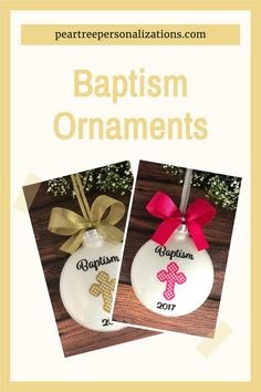 Baptism Gifts For Baby Boy, Baptism Gift Ideas Girl Catholic, Baptism Christmas Ornament
