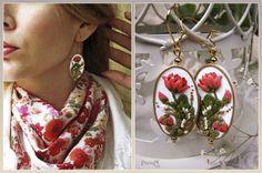 Earrings Herbarium by ~vasoiko on deviantART