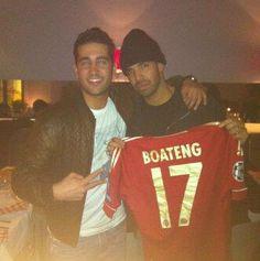 Jérome Boateng verschenkt sein Trikot an Rapper Drake!