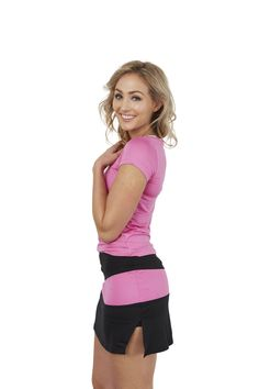 30Fifteen Sue Skirt Black & Pink. Available on our website:                                                                          www.30Fifteen.co.uk 30Fifteen | Tennis | Fitness | Health | Fashion