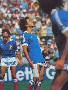 Michel Platini, Vintage Football, World Cup, Hair Cuts, France, Memories, Club, Photography, Sport