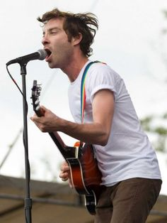 Jared Swilley of The Black Lips performs during the Bonnaroo Music Festival