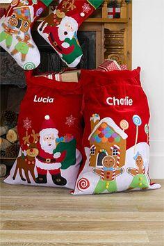 Christmas - Personalised Santa Sack