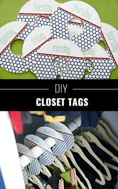 DIY Closet Organization Ideas for Messy Closets and Small Spaces. Organizing Hacks and Homemade Shelving And Storage Tips for Garage, Pantry, Bedroom., Clothes and Kitchen Small Closet Organization, Organization Hacks, Organizing Tips, Bedroom Organization, Homemade Closet, Tiny Closet, Boys Closet, Do It Yourself Home, Bedroom Storage