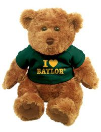 Cute stuffed #Baylor bear for the little bears in your life!