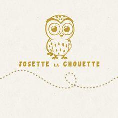 Logo du #site #ecommerce #Prestashop http://www.josette-la-chouette.fr/