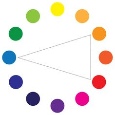 choosing color schemes with a color wheel - very handy little guide with great examples!