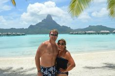 #wendypearls in #BoraBora on an #AdvoCare incentive trip. I wear my #wendymignotdesigns everywhere. #lavieestbelle goes all over the world with us. #love my #wendypearls!