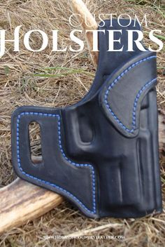 Leather Avenger style holster for an XDM 3.8 from Horizon Country Leather