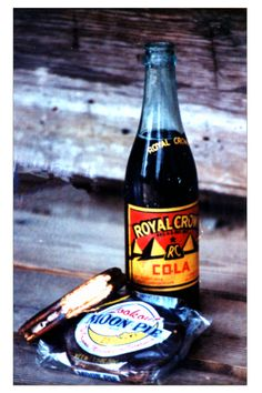 You had to have a Moon Pie with RC Cola! You would dump one of those tiny bags of salted peanuts into the RC. Wonder if it would taste as good now?