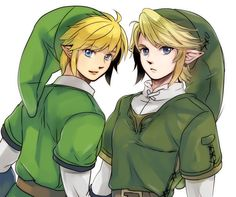 Link, The Legend of Zelda: Twilight Princess x Skyward Sword