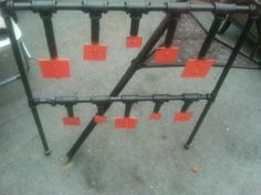 Steel Plate Target Plans   duty steel pictures for some hanging targets changing one at