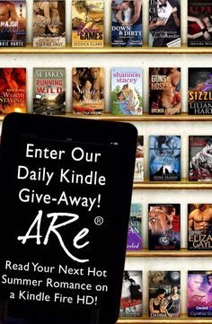 ARe, a serious one-stop-shop for all your ebook romance novel needs is having a fabufabu contest! Check it out! ^____^V