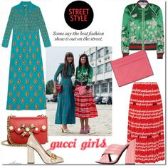Milan Fashion Week: Gucci Girls by arethaman on Polyvore featuring Gucci, gucci, milanfashionweek and headtotoe