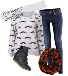 Wishful Weekend Wear: Polyvore Outfit