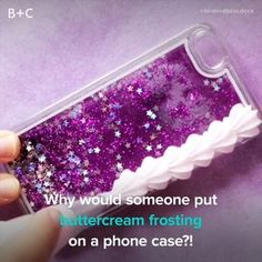Decoden is the latest phone case trend. Decoden is the latest phone case trend. Cute Crafts, Kids Crafts, Diy And Crafts, Arts And Crafts, Creative Crafts, Upcycled Crafts, Yarn Crafts, Latest Phones, Diy Blog