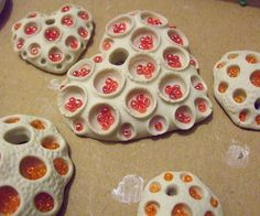 Glass beads added to pendants...