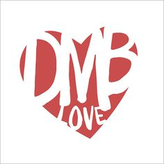 Dave Matthews Band  DMB LOVE Print by KNY5 on Etsy, $10.00