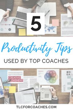 #Productivity tips used by top coaches! // TLC For Coaches << #coaching