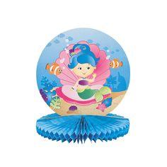Mermaid Party Centerpiece - OrientalTrading.com