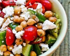 deVegetariër.nl - Vegetarisch recept - Griekse bonensalade