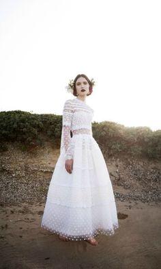 rve robes marie pia mode blanche haut couture marie dentelle manche tenues effet tout