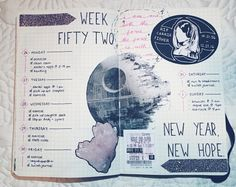 <3 this Force Awakens journal layout