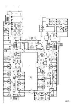 Establishment for Dependent Elderly,Ground Floor Plan