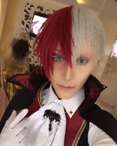 Day 2 of Japan Festival Vietnam I debut my Vampire Todoroki cosplay!  I am really happy that many people like this cosplay.. I think it is my favourite version of Todoroki I have done so far!  I will be posting many photos from the event these next few days.. so look forward to it!! #cosplay #todorokishouto #myheroacademia #bokunoheroacademia #halloween #僕のヒーローアカデミア #コスプレ
