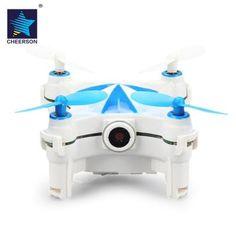 Prezzi e Sconti: #Cheerson cx of micro rc pocket selfie drone Instock  ad Euro 51.20 in #Blue and white #Remote control toysrc