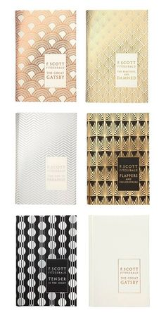 "Favorite design is ""Flappers and Philosophers"" (F. Scott Fitzgerald book covers designed by Coralie Bickford-Smith. Book Cover Design, Book Design, Layout Design, Design Art, Print Design, Interior Design, Textile Design, Scott Fitzgerald, Design Reference"