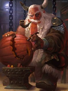 Happy Halloween! #dwarf #rpg #d&d #dnd