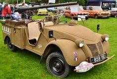 Citroën 2cv Pickup Militaire