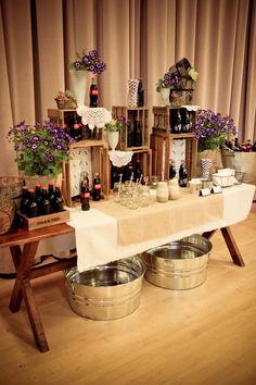 mesas de comida original para bodas   ActitudFEM