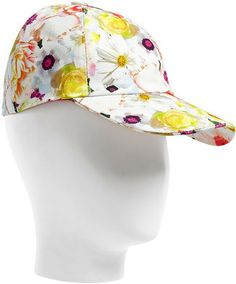 i could rock a floral cap