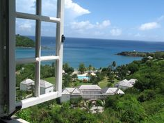 Antigua - view from the T-Club
