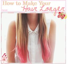 """How To Make Your Hair Longer"" by the-tippers-xo ❤ liked on Polyvore"