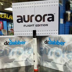 A few @drdabber #aurora flight editions are in stock! Same price as the regular aurora!  #westpalm #royalpalm #wellington #jupiter #palmbeach #supportlocalbusiness #shopsmall #headyart #glass #glassart #americanmadeglass #boro #cali #wonderland  #miami #vape #vapenation #h3h3 (VN  guys!) #vapelife #vapefamily