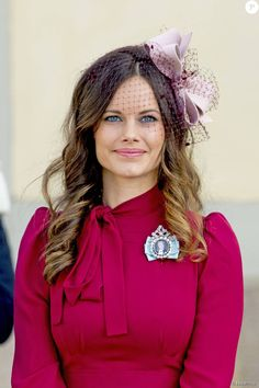 The Princess Sofia (Sofia Hellqvist) - Baptism of Prince Nicolas of Sweden to the chapel of the palace Drottningholm in Stockholm October 11, 2015.