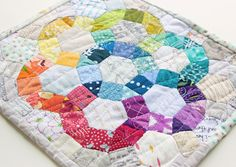 30 Colorful Hexagon Projects to Sew -Flamingo Toes