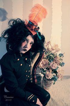 Rusty circus doll