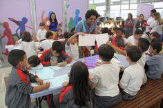 A programação de agosto da Biblioteca de São Paulo (BSP) está especial para o público infantil. Entre os destaques, Hora do Conto e Bebelê, além de diversas atividades lúdicas no Pintando o 7 e Brincando e Aprendendo,combrincadeiras para crianças dos 6 a 11 anos de idade.