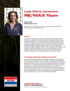 @REMAX Metropolitan Realty @FreyjaRealEstat joining forces with The Urbane Design and Contruction Group, bringing #luxury back to the #Vancity