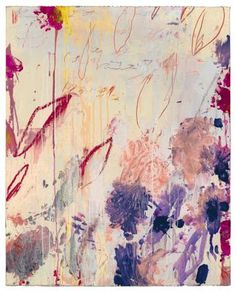 Olive: Cy Twombly.  More beautiful Cy Twombly for the Art Institute of Chicago's exhibition: The Natural world