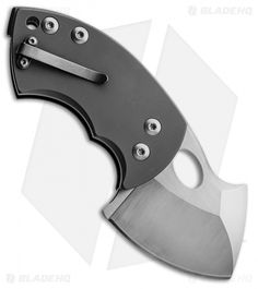 "Boker War Toad Friction Folder Knife Black G10 Titainum (2.25"" Plain) TuffKnives"
