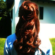 ideas for wedding hairstyles princess beauty Wedding Hair Colors, Wedding Hair And Makeup, Bridal Hair, Hair Makeup, Hair Wedding, Princess Beauty, Princess Belle, Princess Wedding, Bridesmaid Hair
