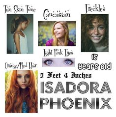 """""""Isadora Phoenix"""" by shababy0403 on Polyvore featuring art"""